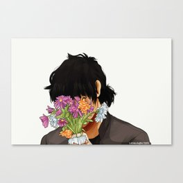 Son of Hades - Wilting Canvas Print