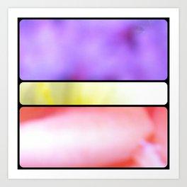 Grid #3 (Fleur) Art Print