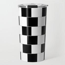 blackwhite Travel Mug