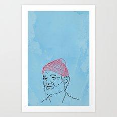 Just Bill Art Print