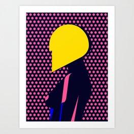 Hairdo Composition V Art Print