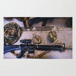 A Marine's Best Friend Rug