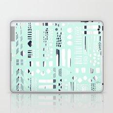 Abstract Marks Mint Laptop & iPad Skin
