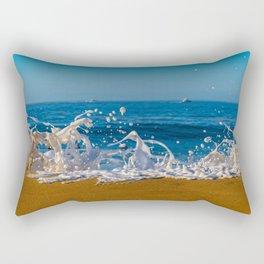 Wedge Foam Rectangular Pillow
