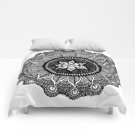 Mandala Doily Comforters
