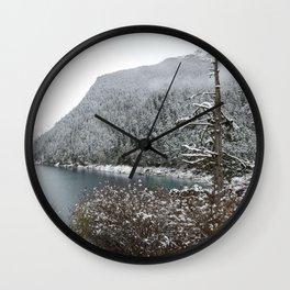 Winter wilderness Wall Clock