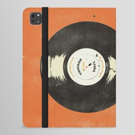 VINTAGE VINYL DRIP iPad Folio Case