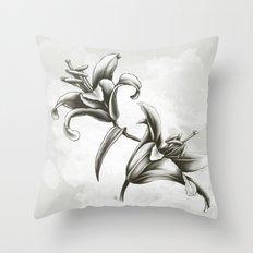 Fleur de lys Throw Pillow