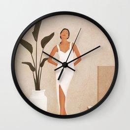 That Summer Feeling III Wall Clock