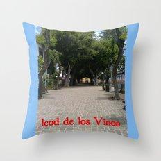 Icod de los Vinos   (A7 B0014) Throw Pillow