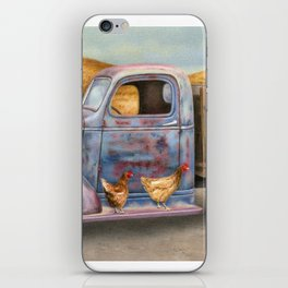 Where The Hens Gather iPhone Skin