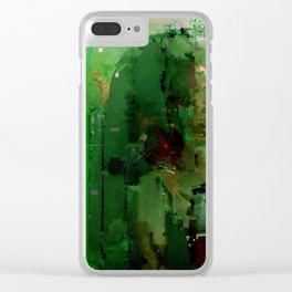 glitch cloud 2. Clear iPhone Case