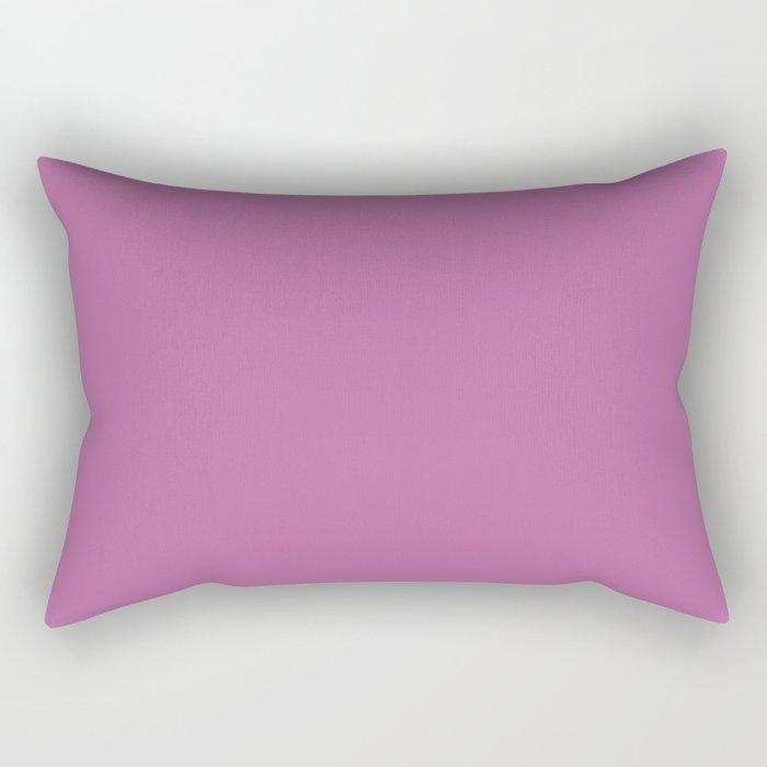 Spring Crocus - Fashion Color Trend Spring/Summer 2018 Rectangular Pillow