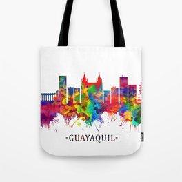 Guayaquil Ecuador Skyline Tote Bag