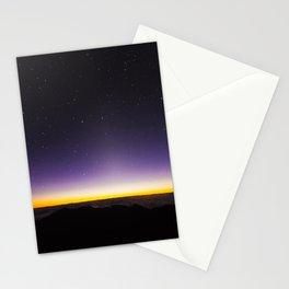 Haleakala Sunrise with Night Stars Stationery Cards