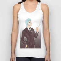 bleach Tank Tops featuring Bleach: Grimmjow by Mattie