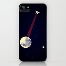 Moon Banjo iPhone Case
