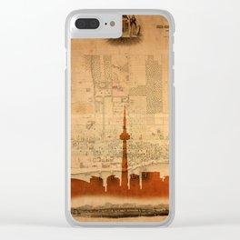 Toronto Skyline 36 Clear iPhone Case