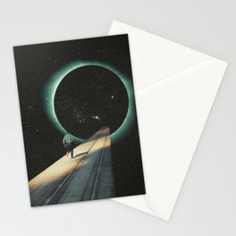 Escaping into the Void Stationery Cards