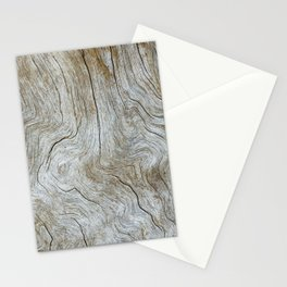 Wood Grain Stationery Cards