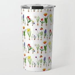 Spring Flowering Bulbs Travel Mug
