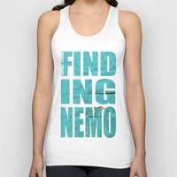 finding nemo Tank Tops featuring Finding Nemo by Garrett McDonald