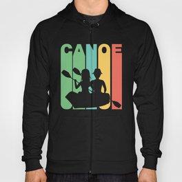 Retro Style Canoe Canoeing Hoody