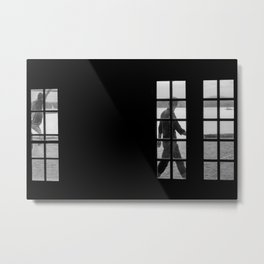 The passer-by Metal Print