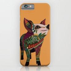 pig love amber Slim Case iPhone 6s