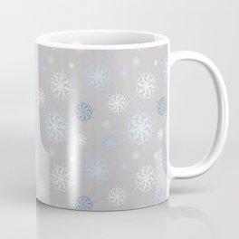 Upper Peninsula Snowflakes Coffee Mug