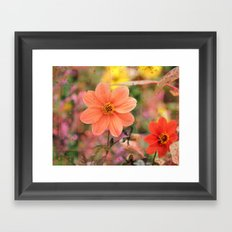The Flower Garden Framed Art Print
