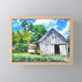 Farmscape PhotoArt Framed Mini Art Print