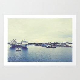 Nassau Art Print