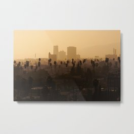 Late Afternoon Over Hollywood Metal Print