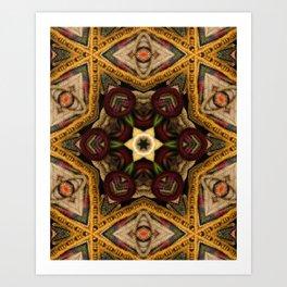 fiber within Art Print