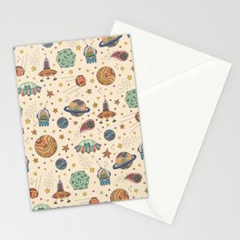 Cute Universe Stationery Cards