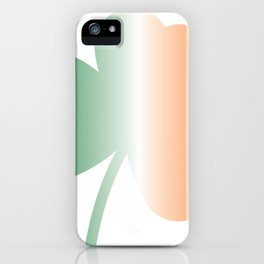 Irish Flag Clover iPhone Case