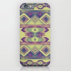 Southwest Pattern - Lime, Purple & Blue Slim Case iPhone 6s