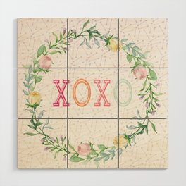 xoxo Wood Wall Art