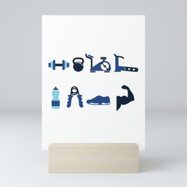 Fit Fam Mini Art Print