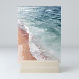 Ocean Print, Beach Sea Print, Aerial Beach Print, Minimalist Print, Beach Photography, Bondi Beach Mini Art Print