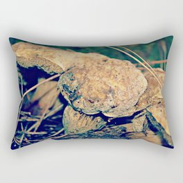 Autumn mushrooms Rectangular Pillow