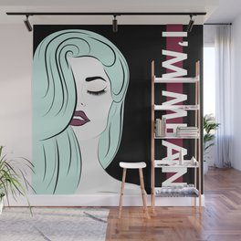 I'm Mean Wall Mural