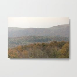 Fall colors in the French mountains Metal Print