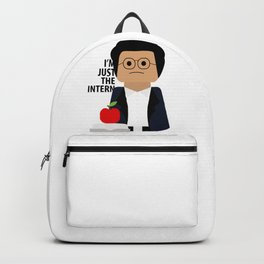 I'm Just the Intern Geek Backpack