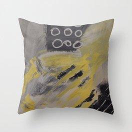 Lemon Merengue Throw Pillow