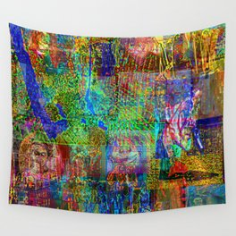 Brainrotting Wall Tapestry