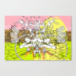 Supplication - REMIX Canvas Print