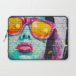 Graffiti Of Women On Wall Laptop Sleeve