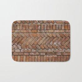 Beautiful Brick Wall Bath Mat